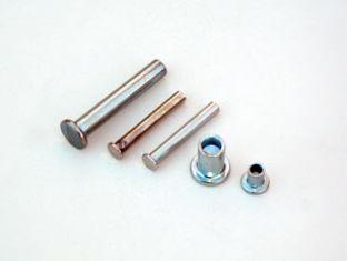 Remache semitubular cabeza plana tipo din 7338 forma b for Precio de remaches de aluminio